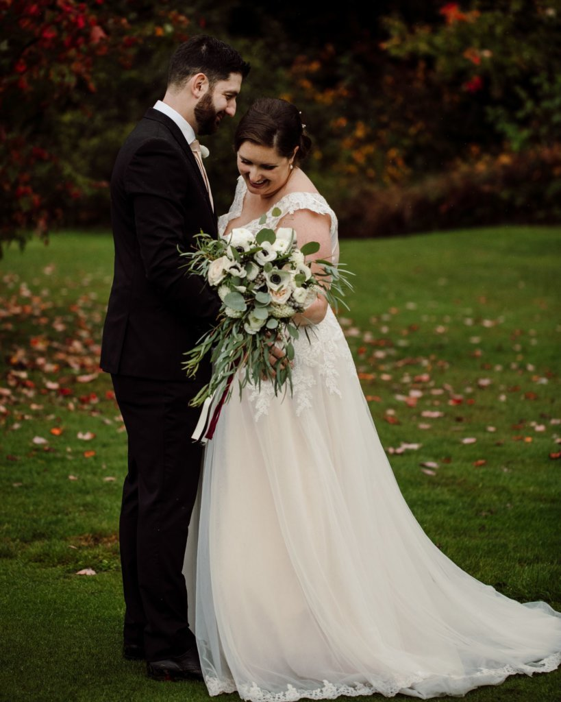 I love everything about my wedding dress!