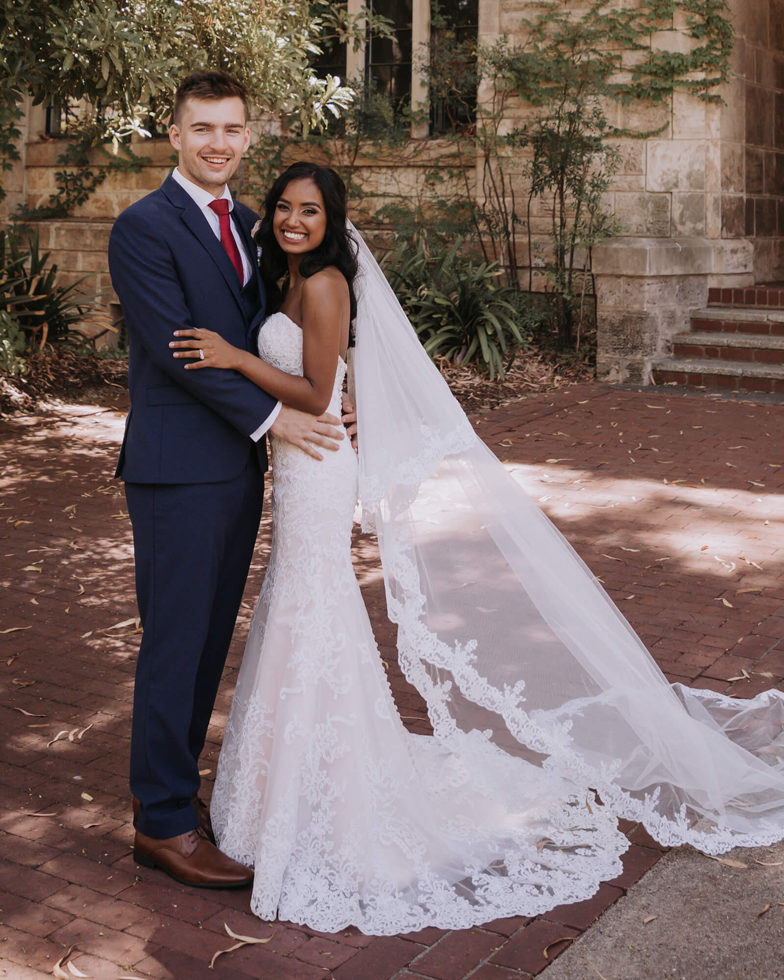 Congrats to this sweet couple!