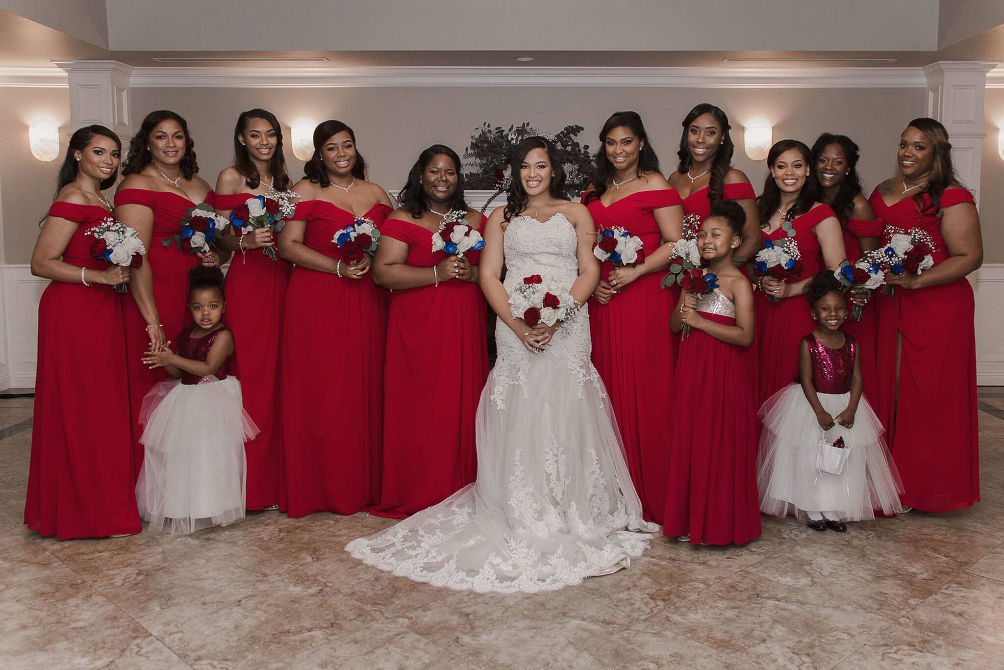 Bridesmaids for a day, besties for life! cocomelodybride & cocomelodybridesmaids