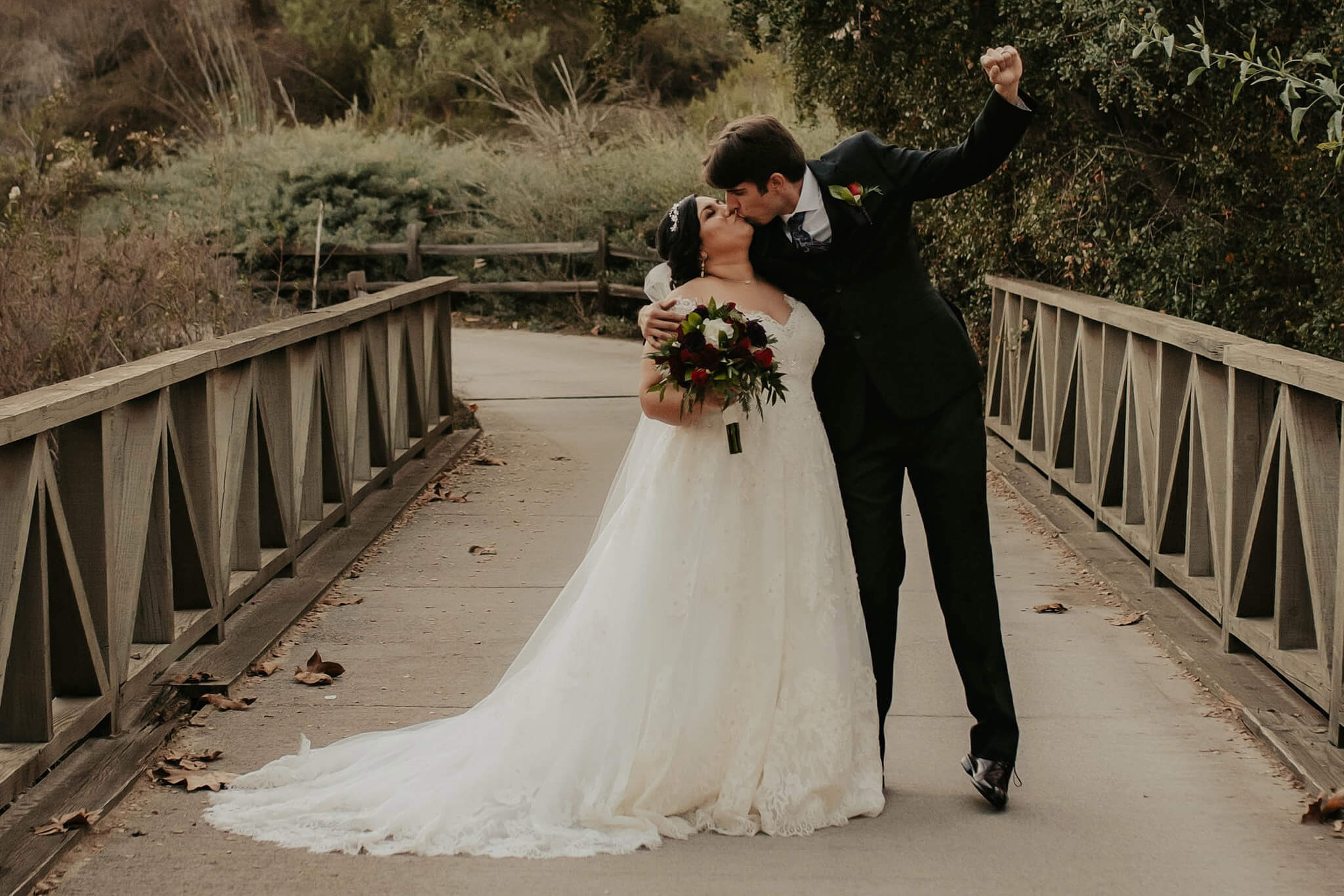 The excitement is true when you finally married the love of your life
