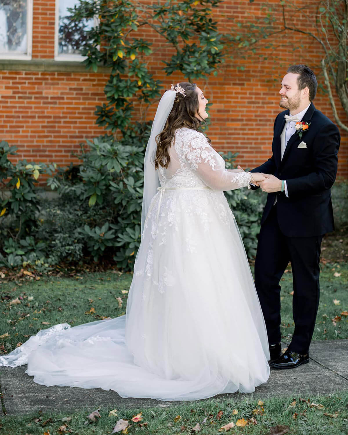 Impressive first wedding looks have us in tears!
