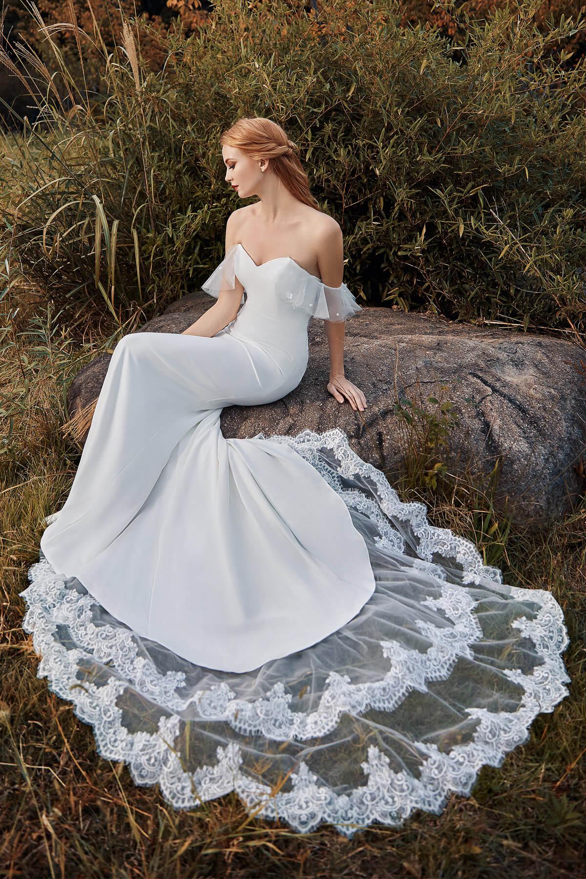 Cocomelody Black Wedding Dress List - CW2217