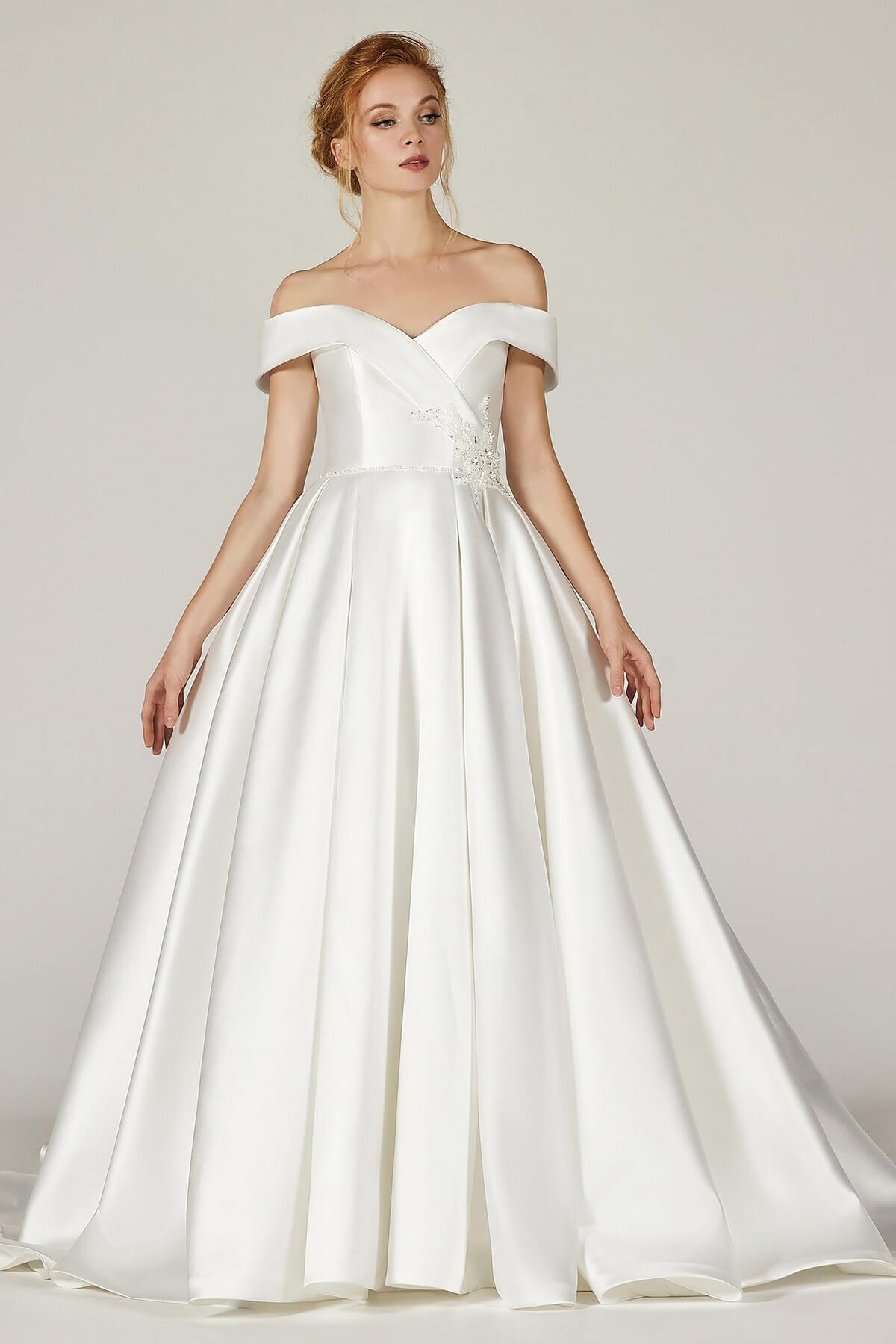 Cocomelody Black Wedding Dress List - CW2289