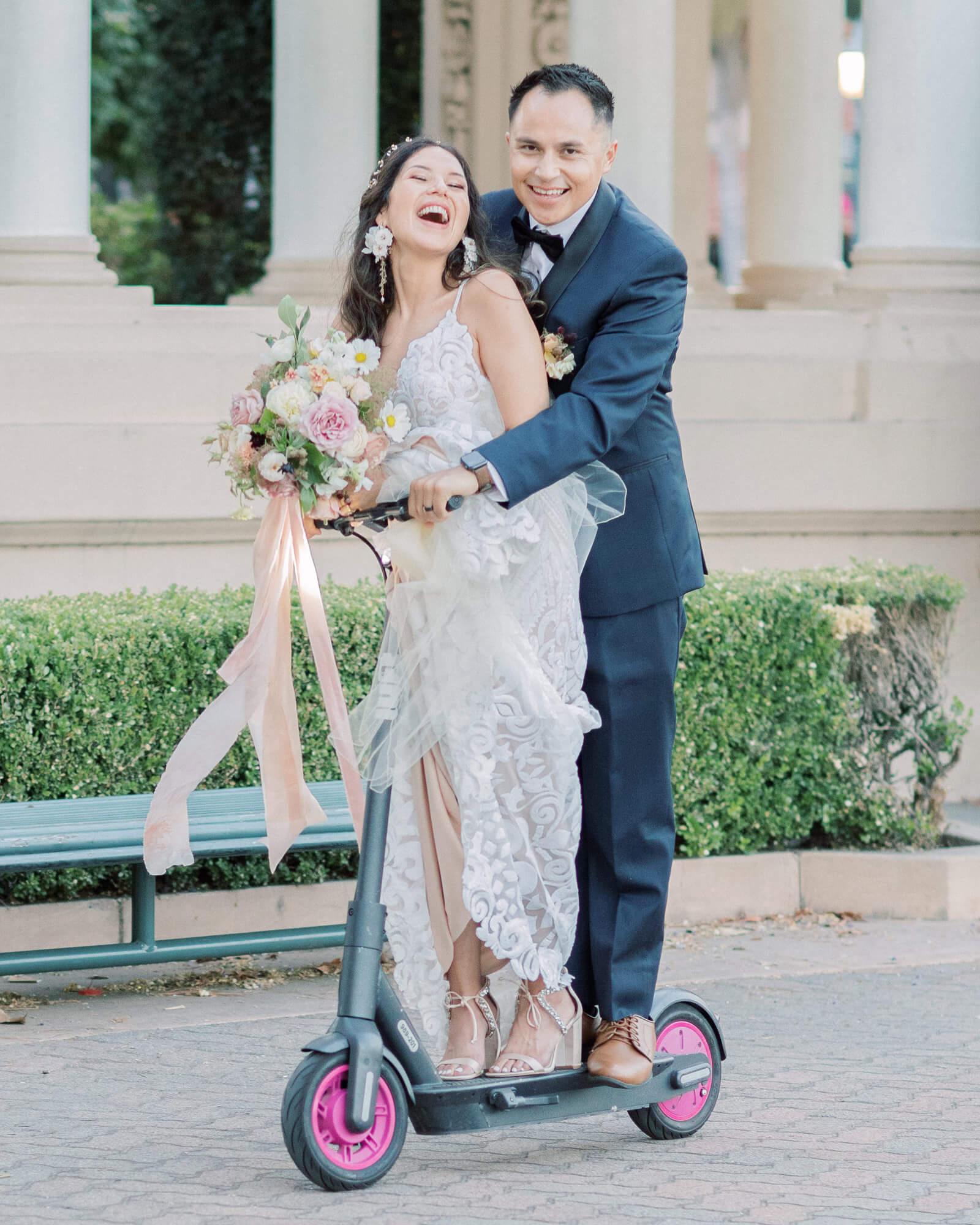 Congratulations to the couple - Calista & Ian