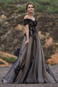 Cocomelody Black Wedding Dresses - LD5830