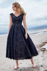 Cocomelody Black Wedding Dress - LD5831