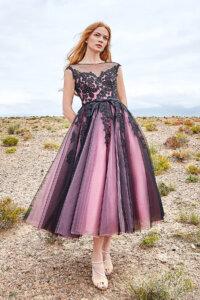 Cocomelody Black Wedding Dress - LD5842