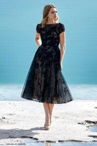 Cocomelody Black Wedding Dress - LD5843
