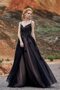 Cocomelody Black Wedding Dresses - LD5821